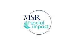 Logo MSR social impact
