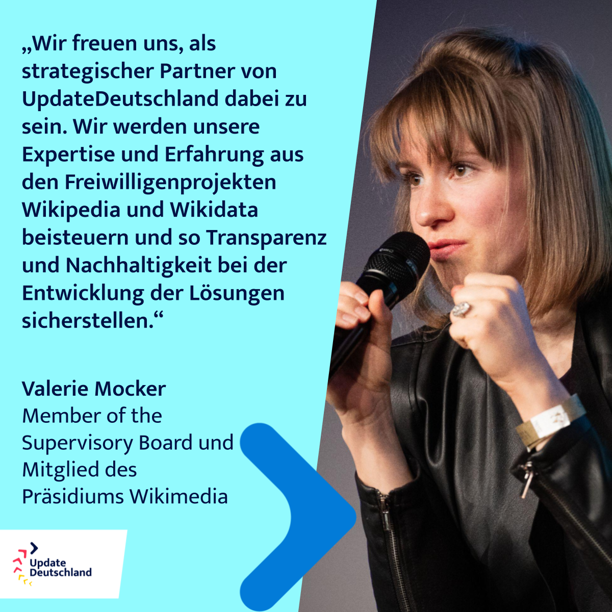 Valerie Mocker, Wikimedia