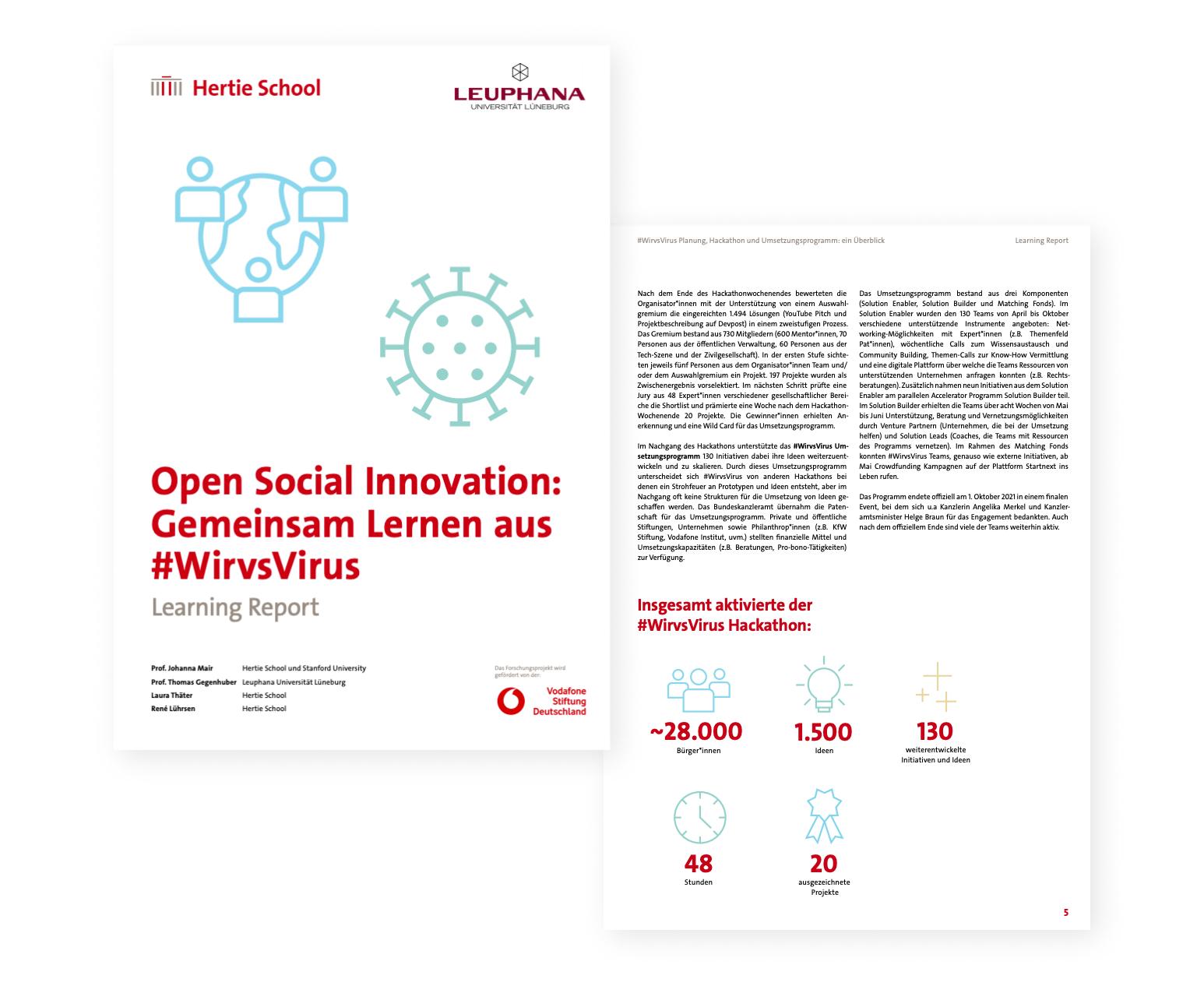 Vorschau des Berichts Open Social Innovation