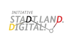 Logo Initiative Stadt.Land.Digital